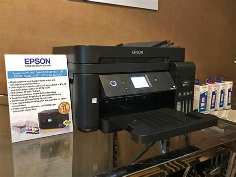 Printer Seri J printer epson seri l terbaru pada tahun 2018 ini resmi diperkenalkan