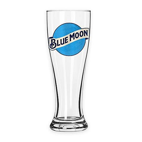bed bath and beyond glasses blue moon beer pilsner glasses set of 2 bed bath beyond