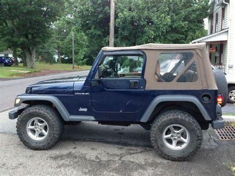 buy used 1997 jeep wrangler se sport utility 2 door 2 5l