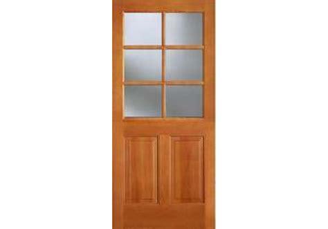 Door Bottoms For Exterior Doors Ab644 Vertical Grain Douglas Fir Exterior 6 Lite With 2 Panel Bottom 1 3 4 Quot
