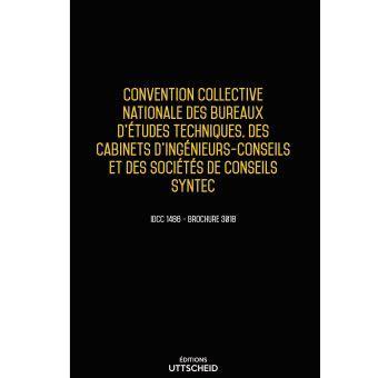 Convention Collective Bureaux D études Techniques Cabinets D Ingénieurs Conseils by Convention Collective Des Bureaux D 233 Tudes Techniques Des