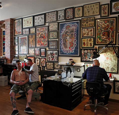 best tattoo parlors a popular with foreigners nytimes