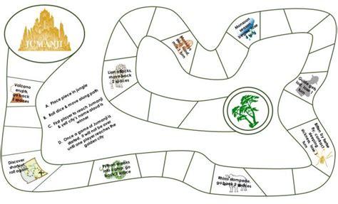 printable board games com free printable jumanji board game june mee