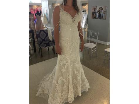 Dress Venita maggie sottero venita 1 440 size 8 new un altered