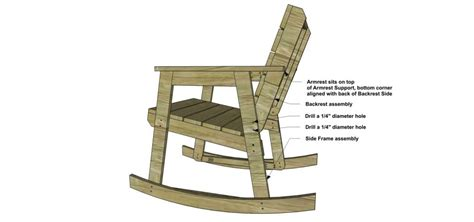 how to build a rocking chair free diy furniture plans how to build a rocking chair