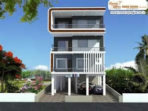 home design 360 3 bedrooms independent floor design in 408m2 12m x 34m