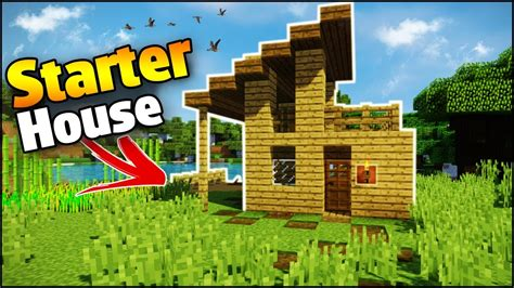8 Tips To Make House Survivable by Minecraft Survival House Tutorial How To Build A Easy
