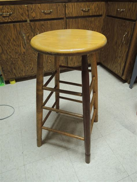 Bar Stool Tops Only by Goes Lightly Painted Top Bar Stool