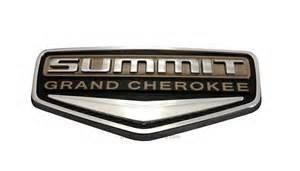 summit badge emblem for 2014 jeep grand item