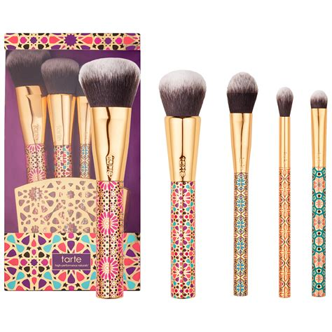 Limited Edition Sephora Set tarte limited edition artful accessories brush set new