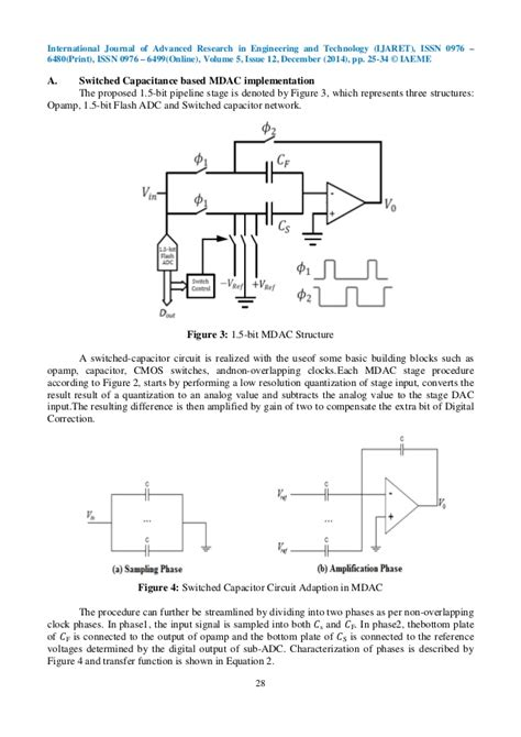 switched capacitor mdac a 10 bit 25 ms s pipelined adc using 1 5 bit switched capacitance bas