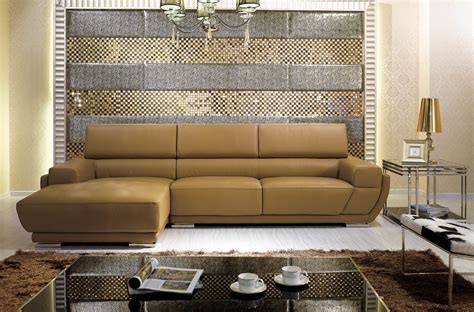 Sofa Vs Sectional by Modern Sectionals Amazoncom Baxton Studio Dobson Leather