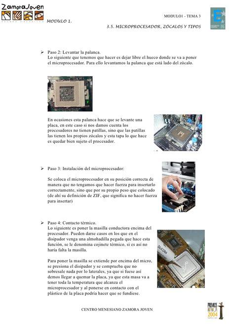 zocalo de microprocesador 5 microprocesador zocalos y tipos