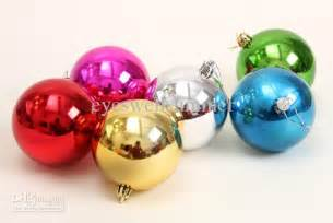 wholesale mix colors christmas balls ornaments 3cm 4cm