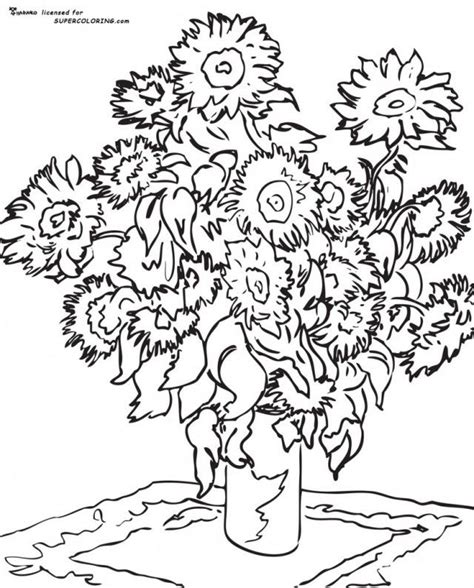 starry night coloring sheet az coloring pages