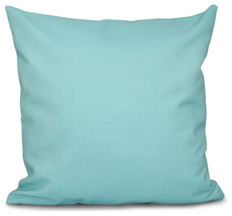 shop houzz e by design solid decorative outdoor pillow