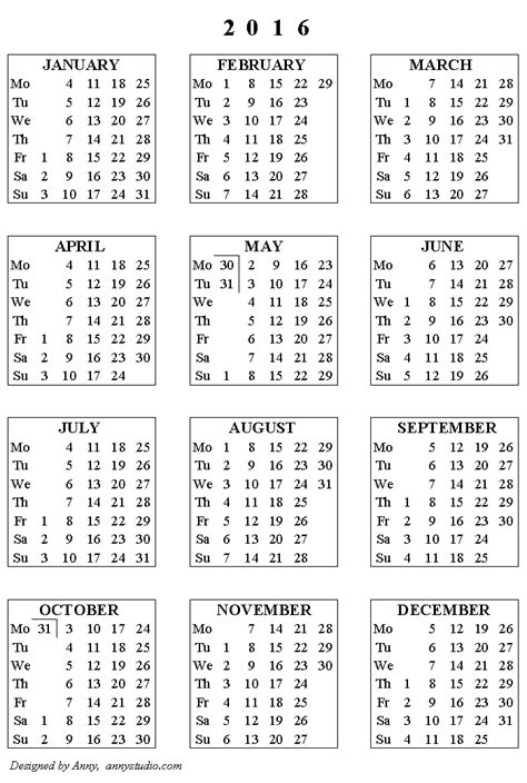printable wall planner 2016 nz free printable calendars and planners 2018 2019 2020