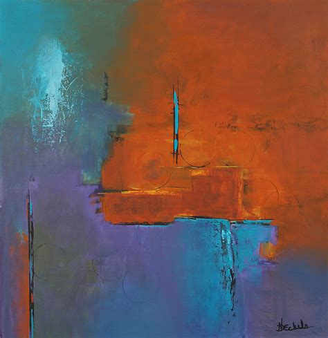 acrylic painting reflections nancy eckels artist profile artful home