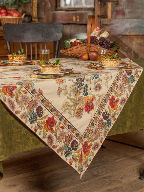 kitchen table linens wildflowers tablecloth linens kitchen tablecloths