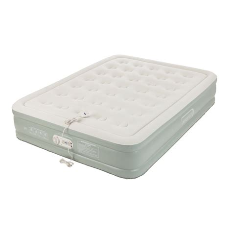 premier collection added comfort air mattress queen