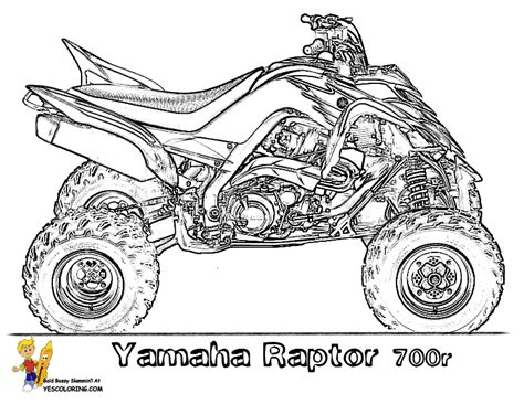 Awesome Atv Coloring Free Atv 4 Wheeler Atv Coloring Pages Four Wheeler
