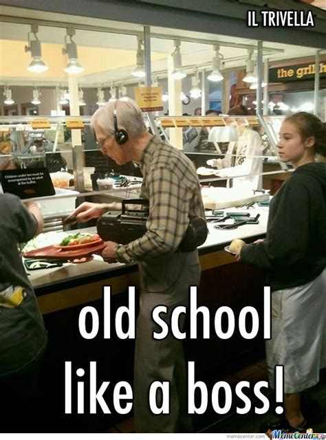 Old Lady College Meme - old school by iltrivella meme center