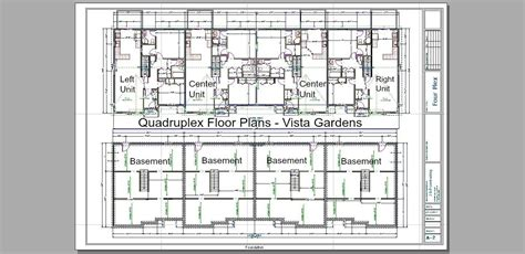 quadruplex floor plans vista gardens paradise alland properties
