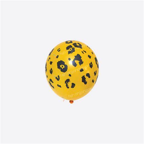 Balon Paket safari temas箟 leopar bask箟l箟 balon 10 lu paket fish d 252 kkan