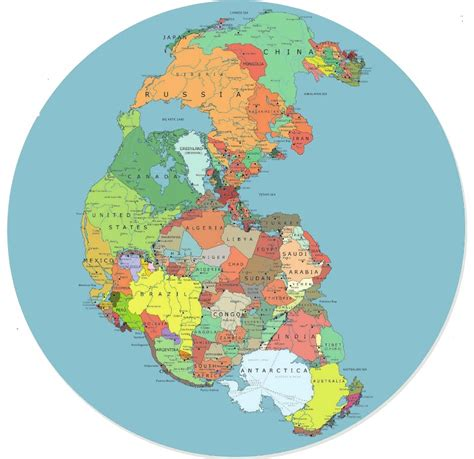 map world before land separated map of the earth before continents separated pictures to
