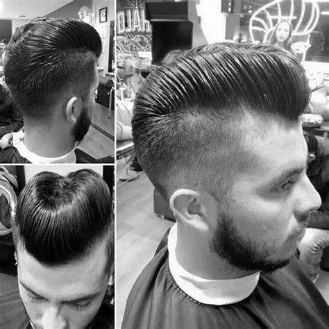da haircut guys stylish hair ducktail on back of head the ducks