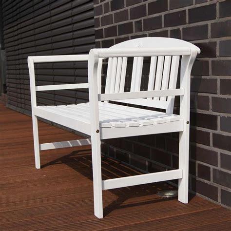 panchina in legno da esterno panchina da giardino in legno a 2 posti stile shabby chic