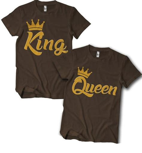 King And Or Queenuples T Shirt Izzy Liv