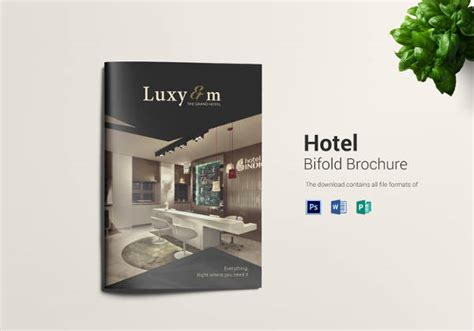 16 Popular Psd Hotel Brochure Templates Free Premium Templates Hotel Brochure Templates Free