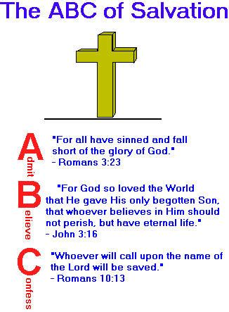 printable abc s of salvation salvation jesussaved com your source for christian and