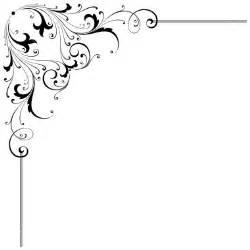 Scroll Wedding Invitations Corner Scroll Clip Art Free Clipart Images 2 Clipartix