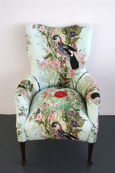 fabrics for chairs 25 best ideas about wingback armchair on