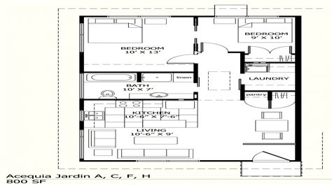 800 Square Foot House Plans by Traditional House Plans House Plans 800 Sq Ft 800