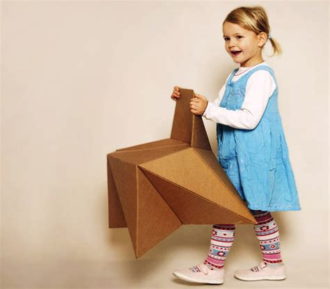 diy kids couch cardboard furniture inhabitat sustainable design