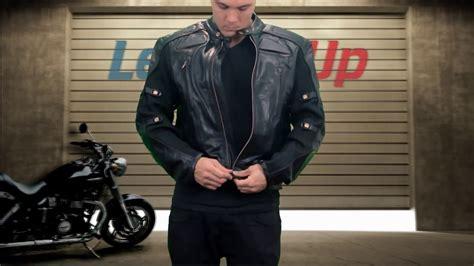 Padded Biker Jacket xelement s defiant black padded biker jacket at