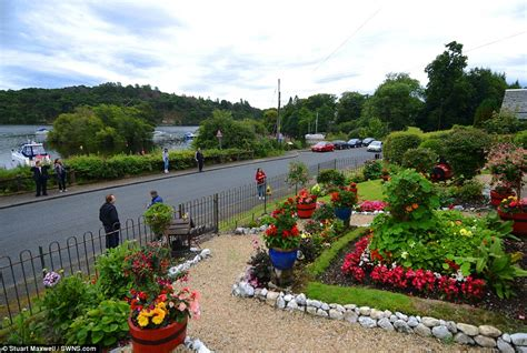 the night they turned loch lomond into swing loch lomond man turns garden into tourists attraction