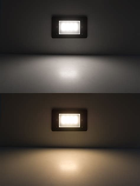 120v led step lights window rectangular step accent