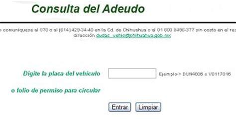 tenencia 2014 estado de mexico chihuahua adeudo y pagos de tenencia e infracciones 2014 2015 repuve consulta gratis en linea