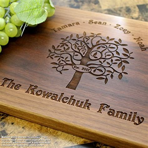 Wedding Gift Cutting Board by Best 24 Personalized Cutting Boards 2018