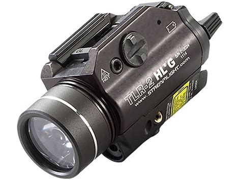 weapon light with laser streamlight tlr 2 hl weapon light with of green laser