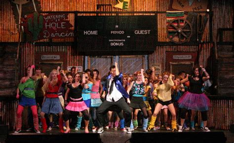 American Rose Theatre   San Diego California Professional and Youth Theatre Group   footloose