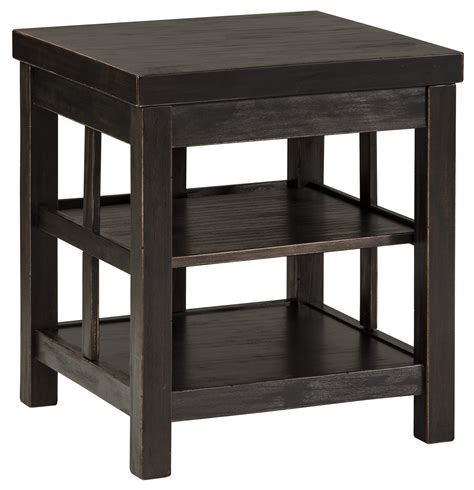 square accent tables signature design by ashley gavelston t752 2 rustic