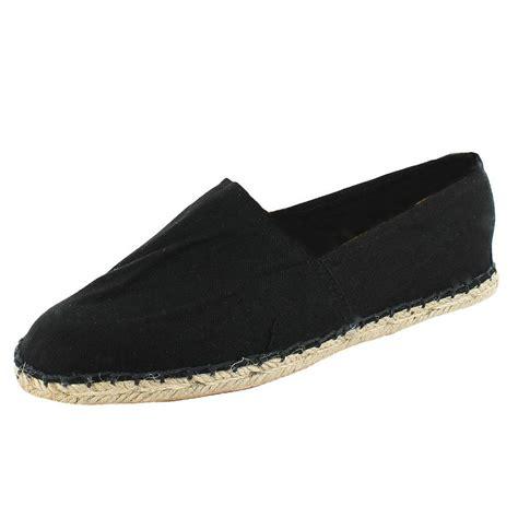 new mens espadrilles canvas summer deck shoes size uk 6 11