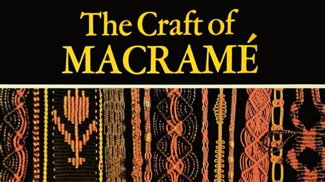 Best Macrame Book - 27 best images about macrame and other crafts on