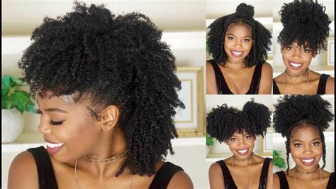 hairstyles for black short hair for school 6 easy back to school hairstyles for natural hair video