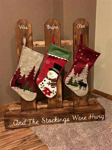 ideas  stocking hanger  pinterest